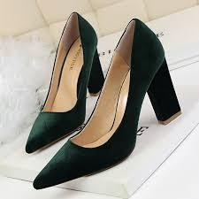 online get cheap thick heel platform pumps aliexpress com
