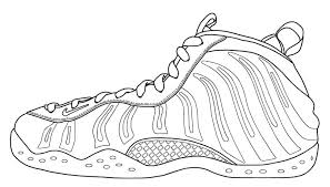 Foamposites Coloring Pages