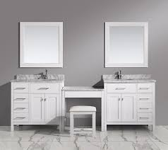 Bath Vanities With Dressing Table by Bathroom Makeup Vanity Building A Makeup Station From Modular