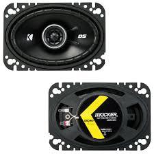 100 Truck Speakers Fits Chevy S10 20022004 OEM Speaker Upgrade Kicker DSC46