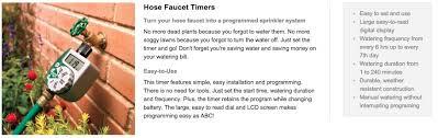 Orbit Hose Faucet Timer by Us Orbit 62061n 91213 Single Dial Garden Farm Water Timer Lazada