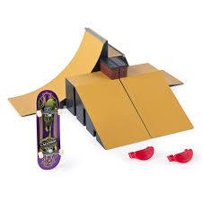 Tony Hawk Tech Deck Half Pipe by Amazon Com Finger Boards U0026 Finger Bikes Toys U0026 Games