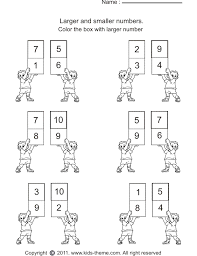 Ideas Of Comparing Numbers Coloring Sheet For Your Proposal