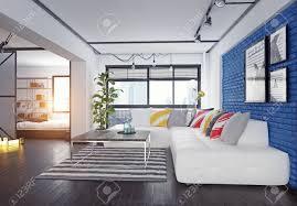 100 Modern Loft Interior Design Loft Interior 3d Rendering Design Concept