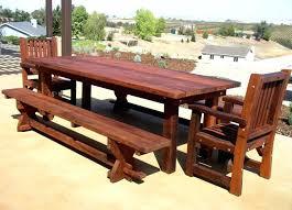 Patio Ideas posite Wood Patio Furniture Plans Diy Outdoor