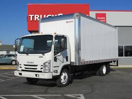 100 20 Ft Truck 19 ISUZU NPRHD EFI FT BOX VAN TRUCK FOR SALE 11324