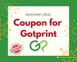 Coupon For Gotprint 30% To 50% Off Discount Codes 2019 ...