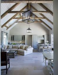 100 Beams On Ceiling Cathedral Ceilings With Exposed Beams White Washed Bright Interior