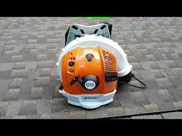 STIHL BR 700 First Look Action