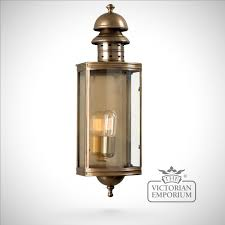 outdoor wall lantern lights adding a dramatic and