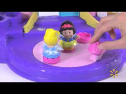 fisher price little people disney princess songs palace play set