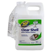 Zep Floor Finish For Stained Concrete by Zep 1 Gal Clear Shell Mold And Mildew Inhibitor Zucsm128 The