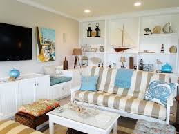 living room image of beachy living room decoration using