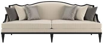 casa padrino luxus deco wohnzimmer sofa beige schwarz 260 x 100 x h 87 cm luxus qualität deco möbel