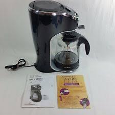 Mr Coffee Cafe Latte 2 Cup Maker Model BVMC EL1 Black Frother Foam