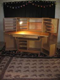 cabine bureau bureau cabine compact home office desk 1950 1960 vendu