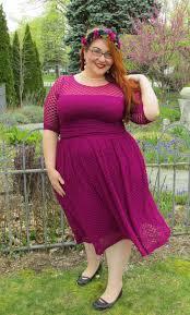 plus size swing dress alexa retro dot dress