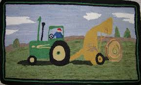 John Deere Bedroom Decor by Buy John Deere Tractor Rug From Bed Bath Beyond John Deere Rugs