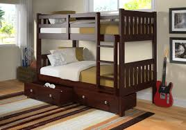 Bunk Beds Columbus Ohio by Donco Kids Twin Bunk Bed With Storage U0026 Reviews Wayfair