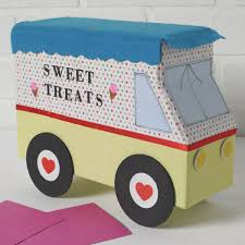 100 Icecream Truck Box Idea For Valentines Ice Cream Project Plaid Online