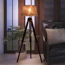 huis spot stehleuchte bodenle schwarz mit schalter gu10
