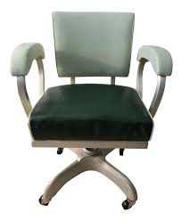 Industrial Tanker Office Chair By Globe-Wernicke Company