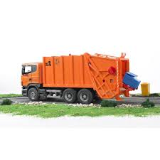 100 Toy Garbage Trucks For Sale Amazoncom Bruder Scania RSeries Truck Orange S Games