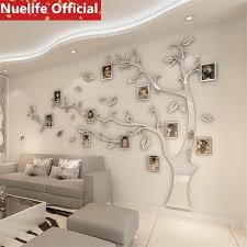 große spiegel baum acryl spiegel aufkleber wohnzimmer schlafzimmer shop büro tv sofa hintergrund dekoration wand aufkleber