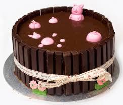 taarten decoreren schweinekuchen peppa schwein