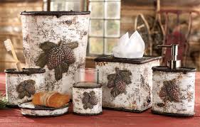 Hunting Camo Bathroom Decor by Rustic Moose U0026 Bear Bathroom Accessories