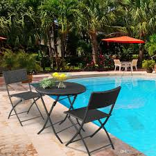 2019 HONYI Foldable Rattan Table & Chair Set Arm Chairs Round Coffee Table  For Patio Dining Collapsible Stable Sturdy Brown Gradient From Jessielmy,  ... 315 Round Alinum Table Set4 Black Rattan Chairs 8 Seater Ding Set L Shape Sofa Brown Beige Garden Amazoncom Chloe Rossetti 17 Piece Outdoor Made Coffee Table Set Stock Photo Image Of Contemporary Hot Item Modern Fniture Stainless Steel And Lordbee Large 5 Pcs Patio Wicker Belleze 3 Two One Glass Details About Chair Cushion Home Deck Pool 3pc Durable For Pcs New Y7n0