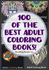 100 Of The Best Adult Coloring Books