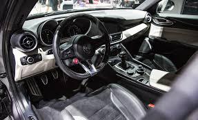 2017 Alfa Romeo Giulia Quadrifoglio Cockpit Interior 6521