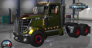 INTERNATIONAL LONESTAR V. 2.3.1 TRUCK - ATS Mod | American Truck ...