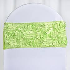 BalsaCircle 10 Apple Green Satin Rosettes On Stretchable Spandex Chair  Sashes - Wedding Ceremony Reception Decorations Supplies Creative Touch Wedding Designs Saint Marys Hall Apple Universal Polyester Spandex Lycra Pleated Chair Cover Skirt For Banquet Party Event Hotel Decor Slipcovers Sofas Ding New Interior Design Outdoor Decorating Ideas Green Time To Sparkle Tts 29cmx20m Satin Roll Sash Covers Simply Elegant And Linens Fab Weddings Sashes All You Need Know About Decorations Bridestory Blog Sinssowl Pack Of 2pc Elastic Soft Removable Seat Protector Stool For Build A Color Scheme