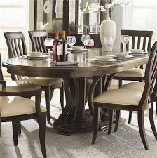 Bernhardt Westwood Oval Double Pedestal Dining Table With ... Realyn Ding Room Extension Table Ashley Fniture Homestore Gs Classic Oak Oval Pedestal With 21 Belmar New Pine Round Set Leaf 7piece And 6 Chairs Evelyn To Wonderful Piece Drop White Mahogany Heart Shield Back Details About 7pc Oval Dinette Ding Set Table W Extendable American Drew Cherry Grove 45th 7 Traditional 30 Pretty Farmhouse Black Design Ideas Kitchen