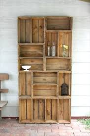 Wood Crates Cheap Ways To Be Sustainable By Decorating With Wooden Shipping For