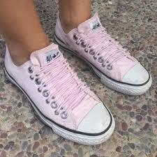 off Converse Shoes CONVERSE ALLSTAR Light Pink Elastic