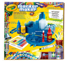 Cozy Crayola Make Your Own Coloring Page Markers With The Marker Maker