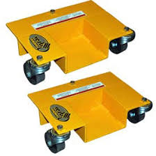 PALLET RACK MOVER DOLLIES