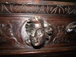 Just Cabinets Scranton Pa by 1880s Hand Carved Figural Cabinet With Claw Feet Faces And