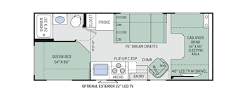C Floor Plans by Chateau Class C Motorhomes Floor Plans Thor Motor Coach