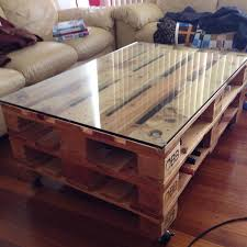 Coffee Table On Wheels Contemporary Industrial Vintage Coffee Table