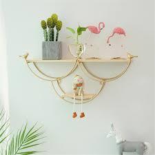 metall wandregal wandboard hängeregal schweberegal wohnzimmer wand dekoration gold