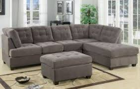 Grey Sectional Living Room Ideas by Charcoal Gray Sectional Sofa Foter