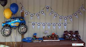 100 Monster Truck Theme Party Mr Vs 3rd Birthday Part II The Fun And Cake