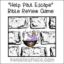 Help Paul Escape Review Game