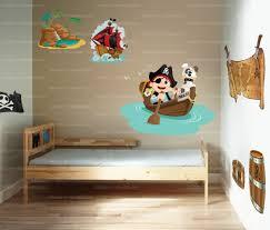 chambre garcon pirate stickers chambre enfant pirate vente sticker décor de tonneau de