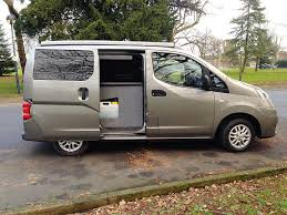 Converting A Nissan NV200 Into Campervan