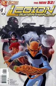 Legion Of Super Heroes 2011 7th Series 1A